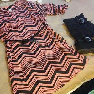 Dresses & Skirts - Chevron dress